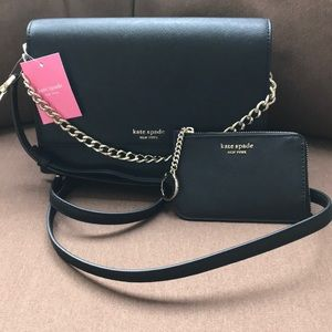 Kate Spade Cameron Crossbody/Card Holder Bundle